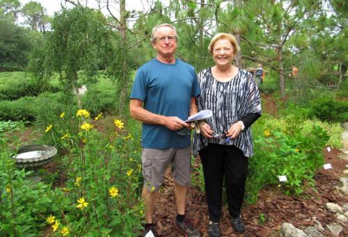 Bird Island Butterfly Garden Master Gardener and Caretaker
