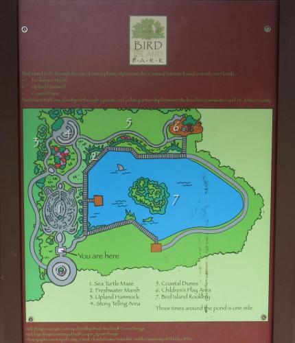 Bird Island Map Overview