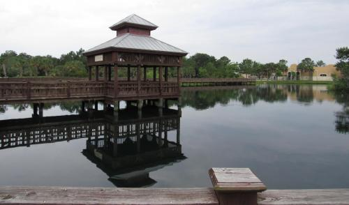 Bird Island View of Rookery Lookout Pavilion
